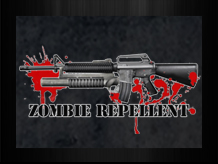 ar15 zombie repellent shirt